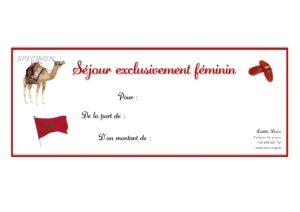 séjour féminin